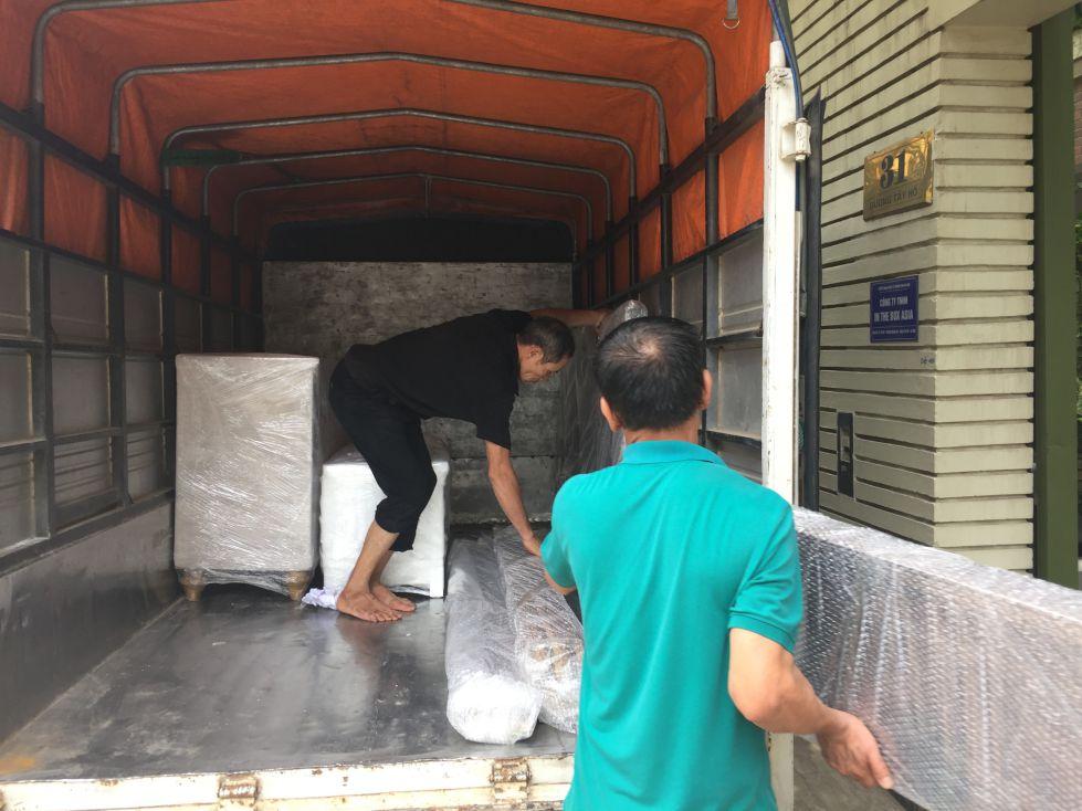 dịch vụ chuyển nhà trọn gói từ hà nội vào sài gòn